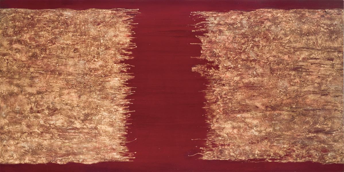 Phenomena (6), oil & mixed media on canvas, 243.84 x 152.4cm, 2013