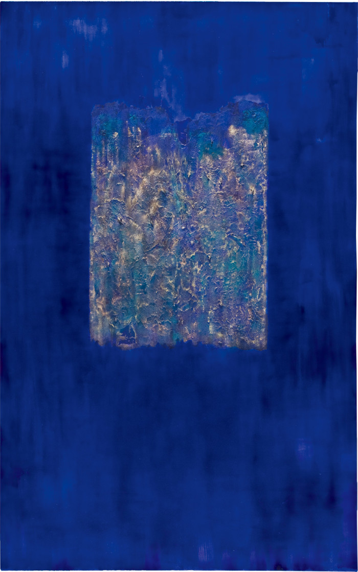 A Memory (oil & mixed media on canvas, 243.84 x 152.4cm, 2012)
