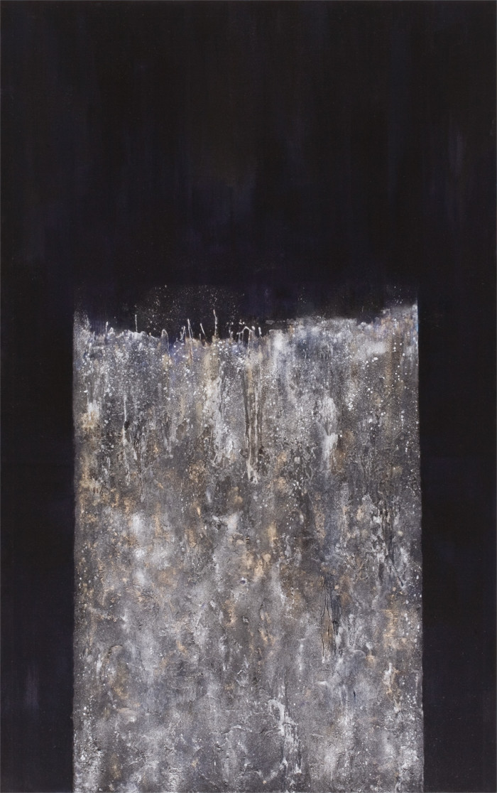 Phenomena (1), oil & mixed media on canvas, 243.84 x 152.4cm, 2013