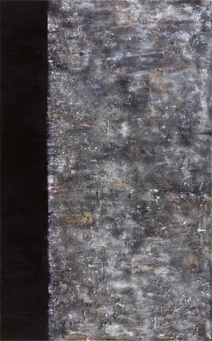 Phenomena (2), oil & mixed media on canvas, 243.84 x 152.4cm, 2013