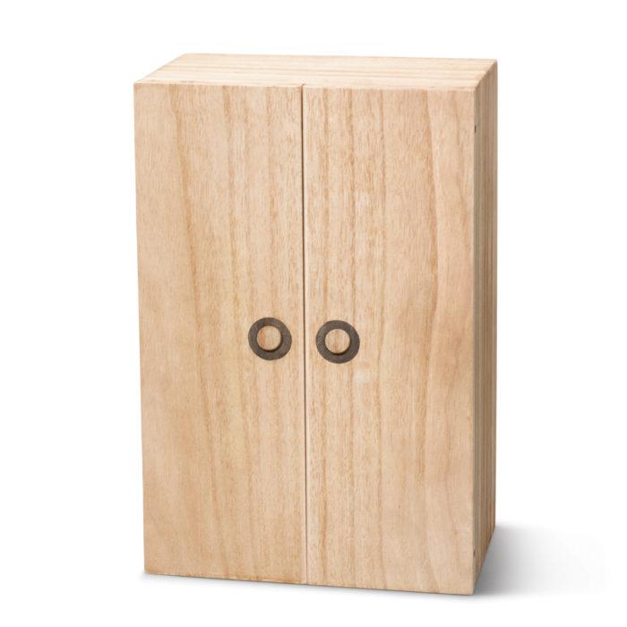 Cabinet Series Closed (2016) 34cm x 46cm x 14cm