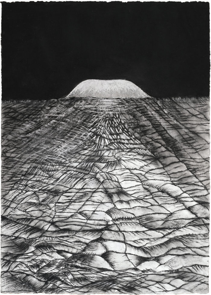 Path (2016) 106cm x 75cm