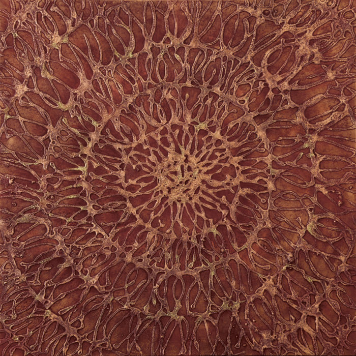 Seed Syllable II (2016) 100cm x 100cm
