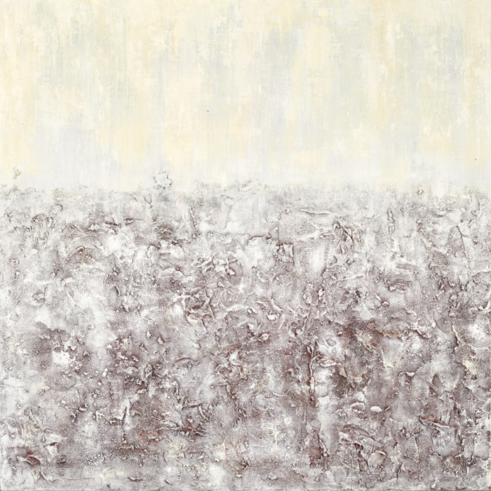 The Texture of Silence I (2015) 100cm x 100cm